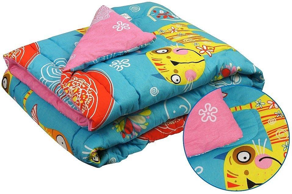 Детское шерстяное одеяло Руно, 321.116ШК+У_Yellow cat