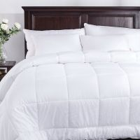 Одеяло зимнее Comfort Night White микросатин на Light Silk