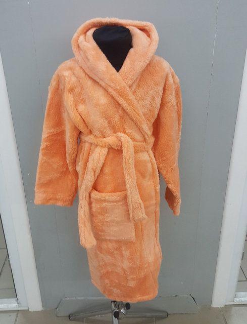 0eb48d904c9a5 Детский махровый халат Velsoft Zeron персиковый. Купить Детский ...