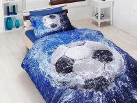 93e28f0a8c8e Полуторное постельное белье First Choice 3D Football 160x220 ...