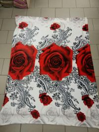 Плед флисовый 150х220 см Large Rose RTekstil