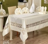 Скатерть Finezza Home Gelin 170Х230 белая